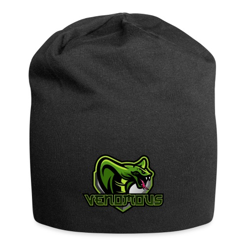 Venomous Text Logo - Jersey Beanie