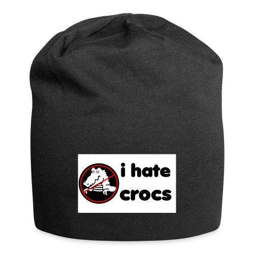 I Hate Crocs shirt - Jersey Beanie
