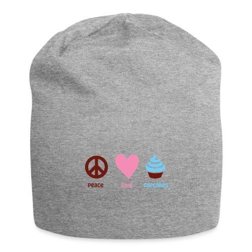peacelovecupcakes pixel - Jersey Beanie