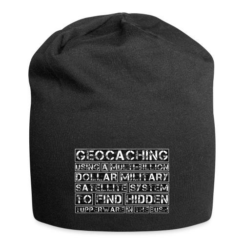 Geocaching Camo Satellite - Jersey Beanie