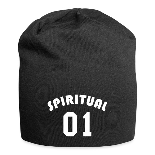 Spiritual 01 - Team Design (White Letters) - Jersey Beanie