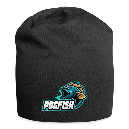 PogFish Text Logo - Jersey Beanie