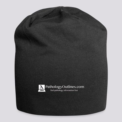Pathology Outlines Full Logo - Jersey Beanie