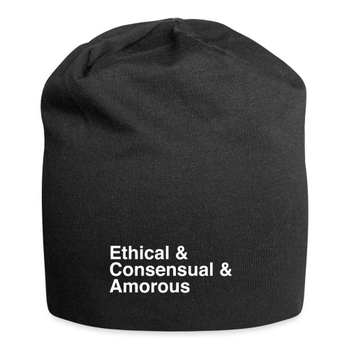 Ethical & Consensual & Amorous - Jersey Beanie