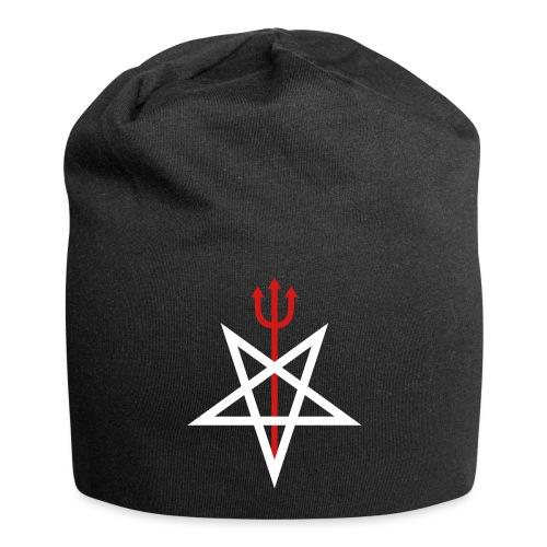 Pitchfork Pentagram - Jersey Beanie