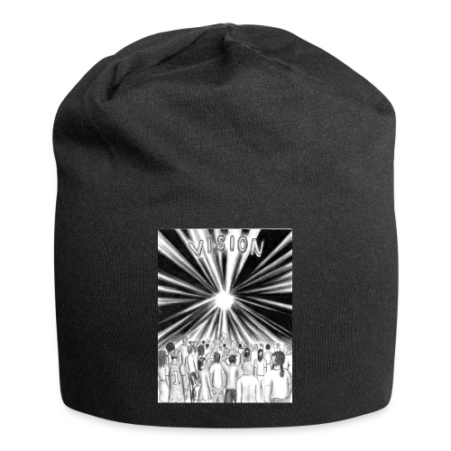Black_and_White_Vision - Jersey Beanie