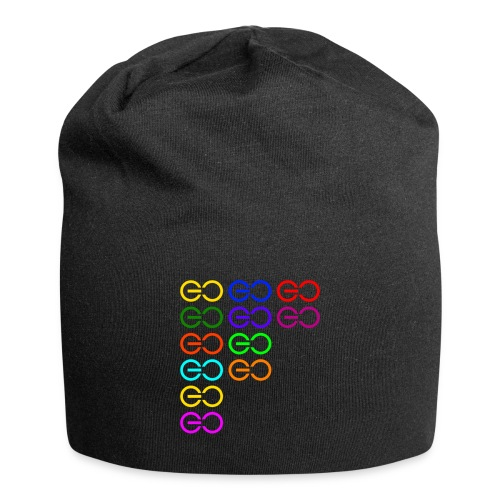 GOGOGO multi color - Jersey Beanie
