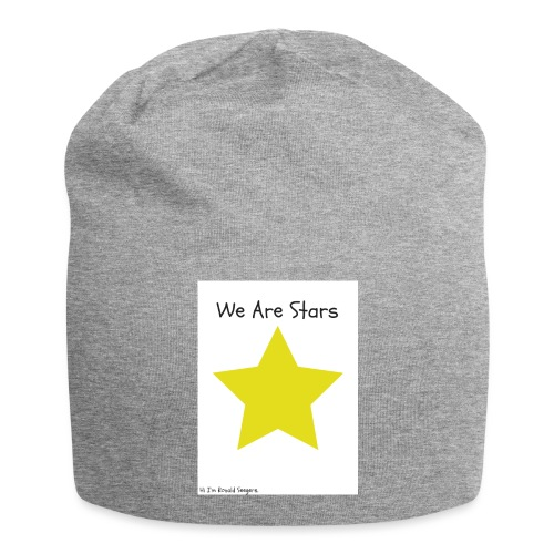Hi I'm Ronald Seegers Collection-We Are Stars - Jersey Beanie