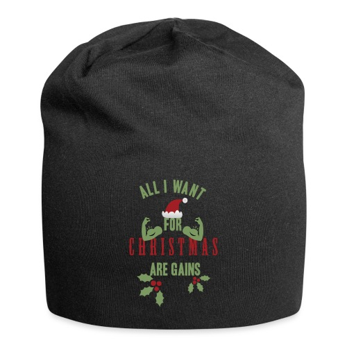 All i want for christmas - Jersey Beanie