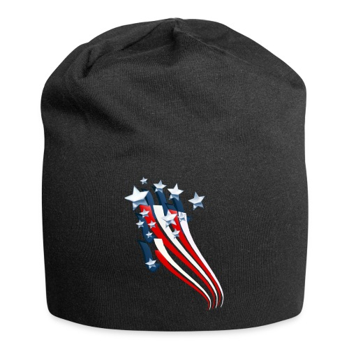 Sweeping American Flag - Jersey Beanie