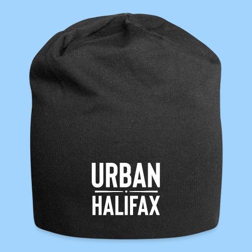 Urban Halifax logo (White) - Jersey Beanie