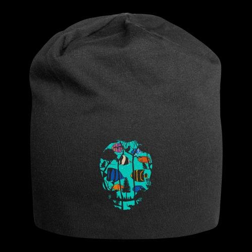 Underwater Skull - Jersey Beanie