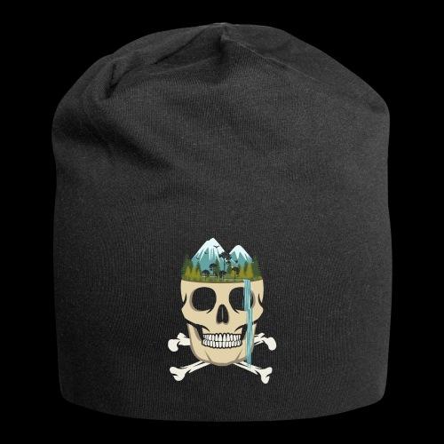 Skull Waterfall - Jersey Beanie