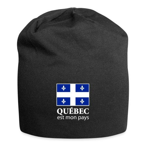 Québec est mon pays - Jersey Beanie