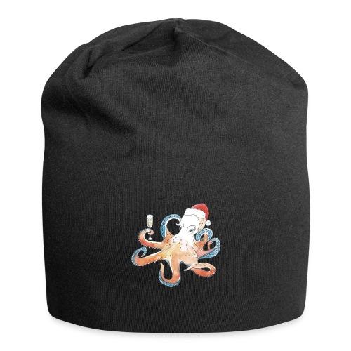 Christmas cephalopod - Jersey Beanie