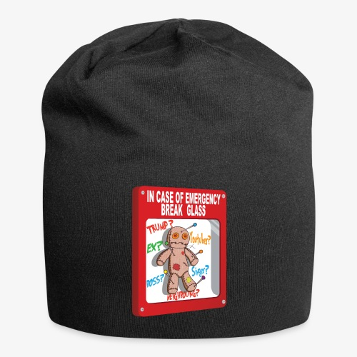 In case of emergency Voodoo Puppet - Jersey Beanie