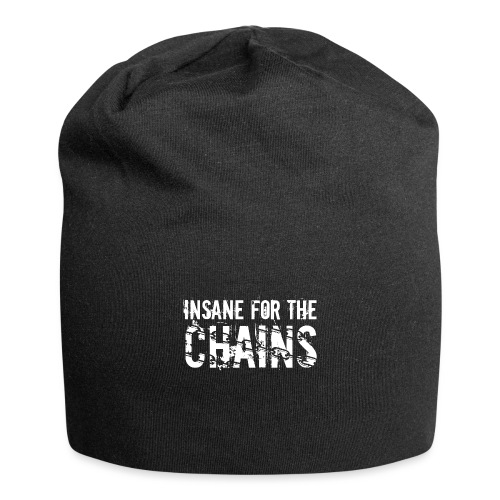Insane for the Chains White Print - Jersey Beanie