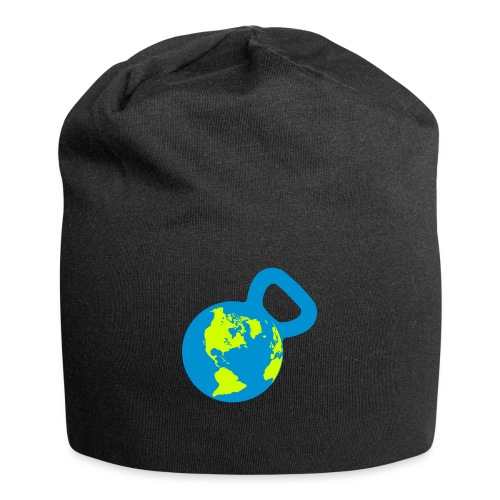 It's a Kettlebell World - Jersey Beanie