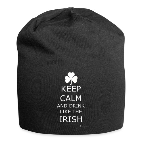 Keep Calm And Drink Like The Irish - Jersey Beanie