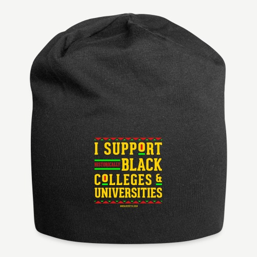 I Support HBCUs - Jersey Beanie