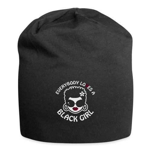 Everybody Loves A Black Girl - Version 2 Reverse - Jersey Beanie