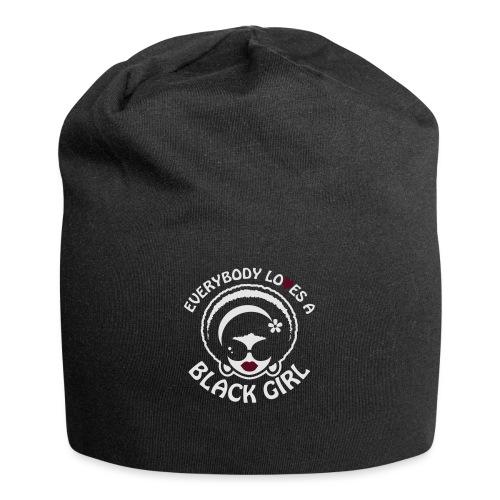 Everybody Loves A Black Girl - Version 1 Reverse - Jersey Beanie
