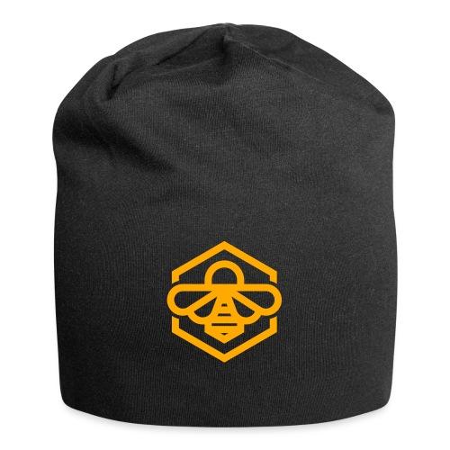 bee symbol orange - Jersey Beanie