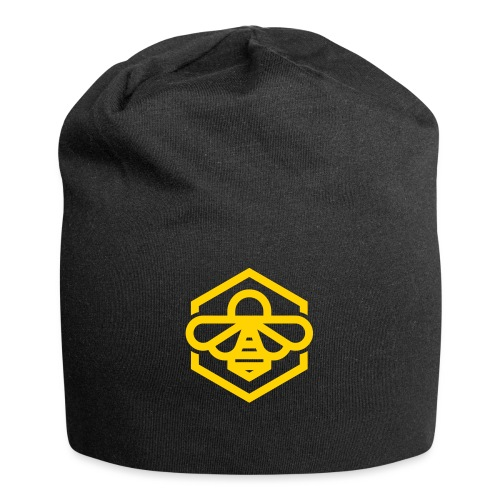 bee symbol orange - Jersey Beanie