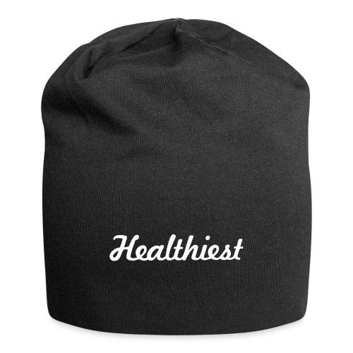 Sick Healthiest Sticker! - Jersey Beanie