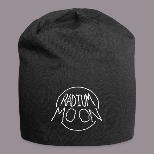 Radium Moon White - Jersey Beanie