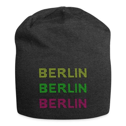 Berlin dots-font - Jersey Beanie