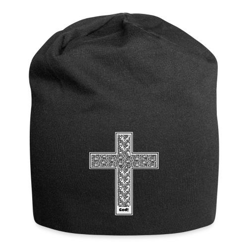 Jesus cross. I'm no longer a slave to fear. - Jersey Beanie