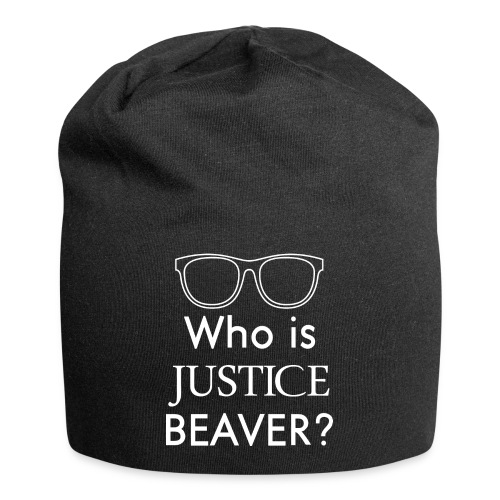 Who Is Justice Beaver - Jersey Beanie