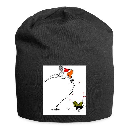 Lady Climber - Jersey Beanie