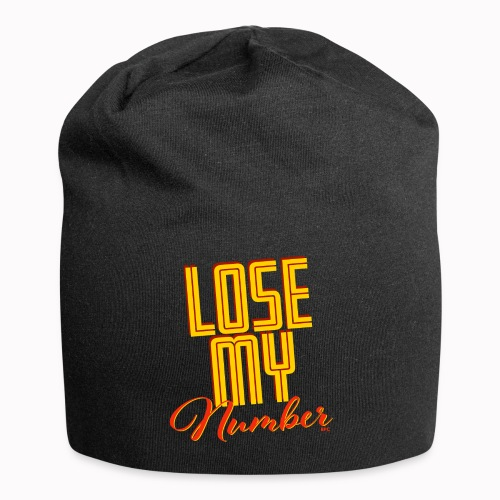 Lose My Number - Jersey Beanie