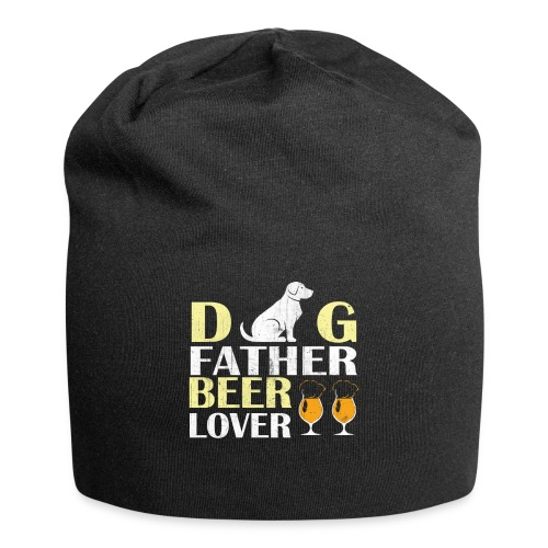 Dog Father Beer Lover - Jersey Beanie