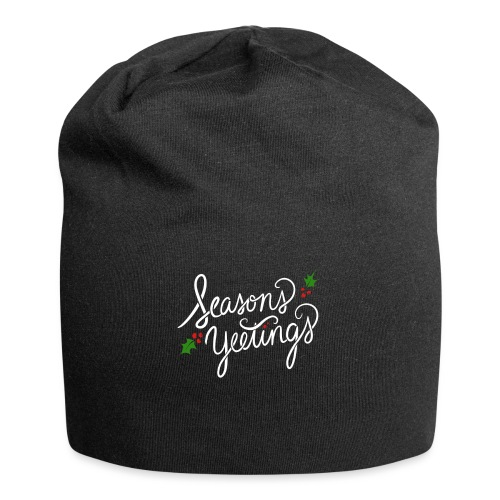 season yeetings - Jersey Beanie