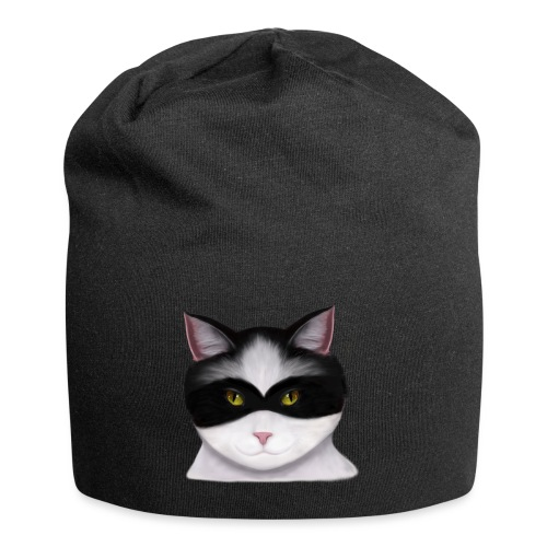 I am called the Masked Cat - Jersey Beanie