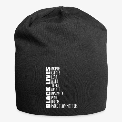Black Lives More Than Matter - Jersey Beanie