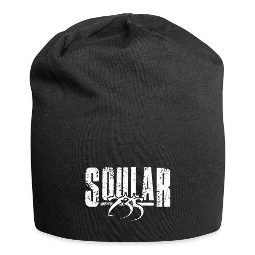 Soular235 White Logo - Jersey Beanie