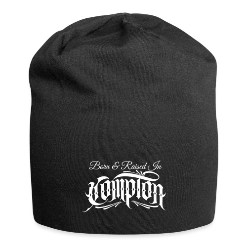 born and raised in Compton - Jersey Beanie