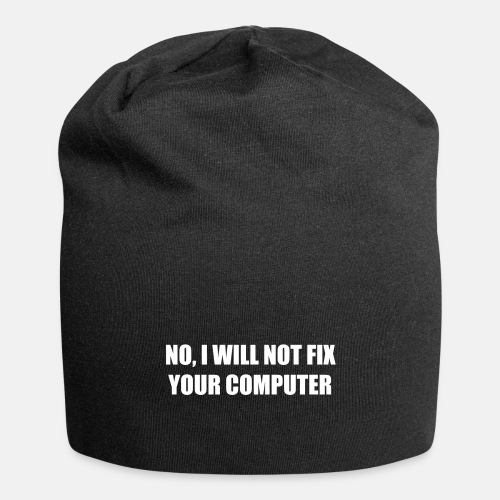 No, I will not fix your computer