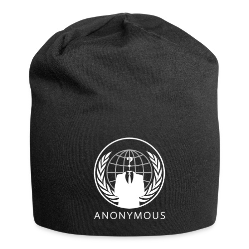 Anonymous 1 - White - Jersey Beanie