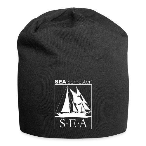 SEA_logo_WHITE_eps - Jersey Beanie