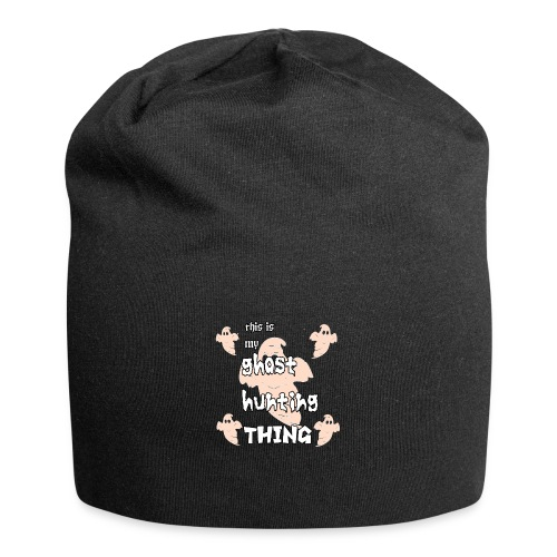 ghost hunting thing - Jersey Beanie