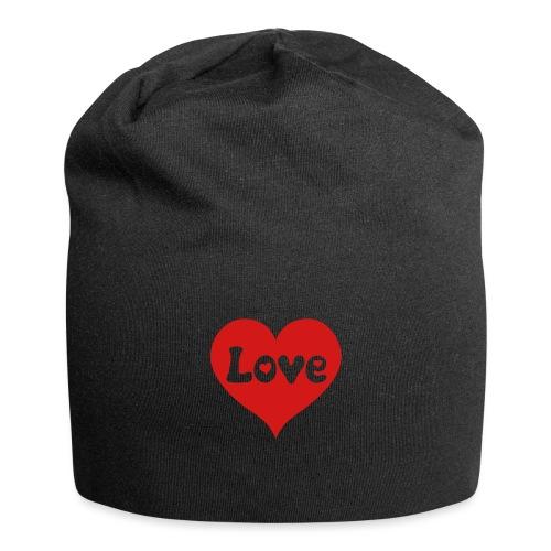 Love Heart - Jersey Beanie