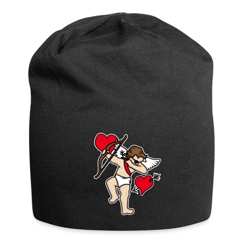 Dabbing Cupid For Valentines Day Gift T shirts - Jersey Beanie