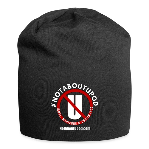 #NotAboutUpod - Jersey Beanie