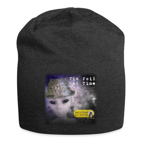Tin Foil Hat Time (Space) - Jersey Beanie