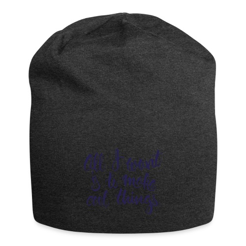 Cool Things Navy - Jersey Beanie